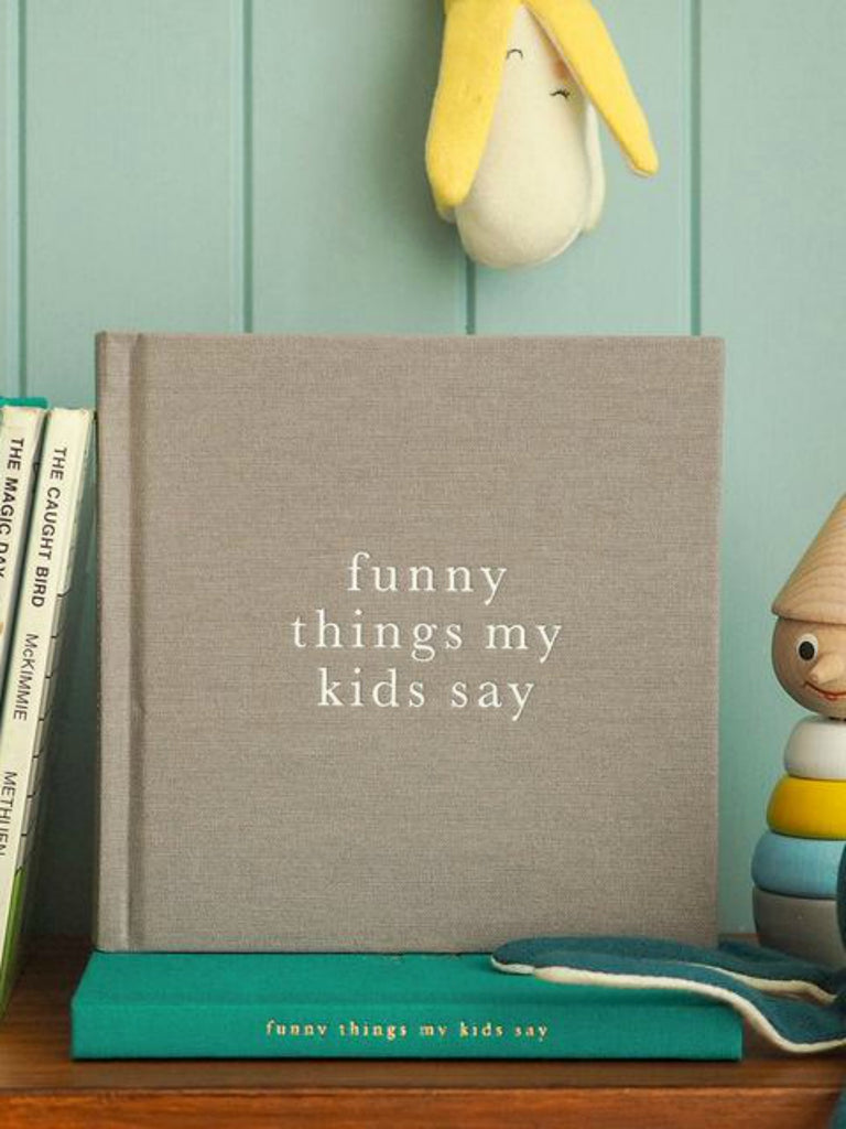 Funny Things My Kids Say | Grey