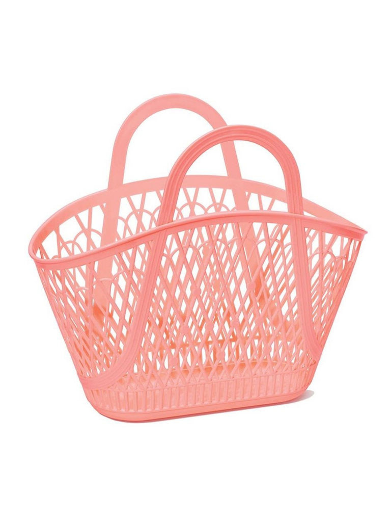 Sun Jellies Betty Basket | Peach