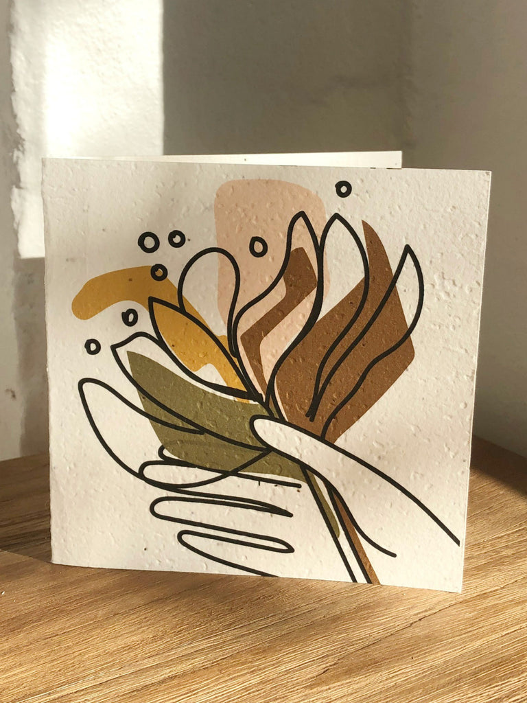 Plantable Card | Banksia, Bunch