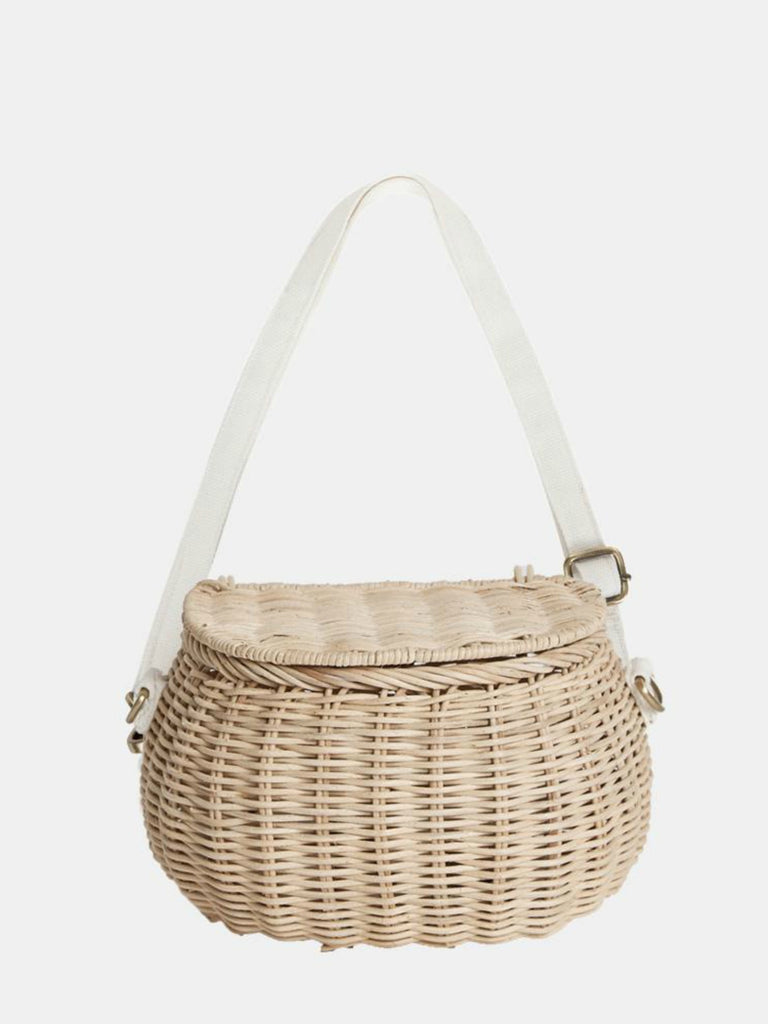 Olli Ella Mini Chari Bag | Straw