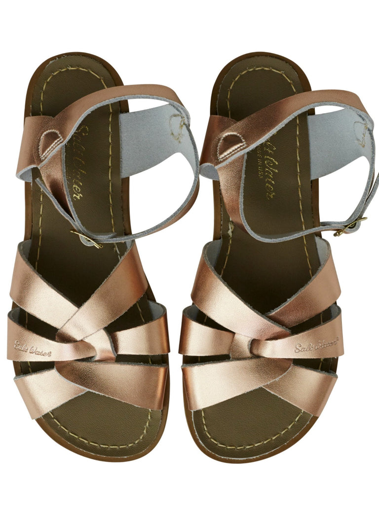 Salt Water Sandals Kids | Rose Gold
