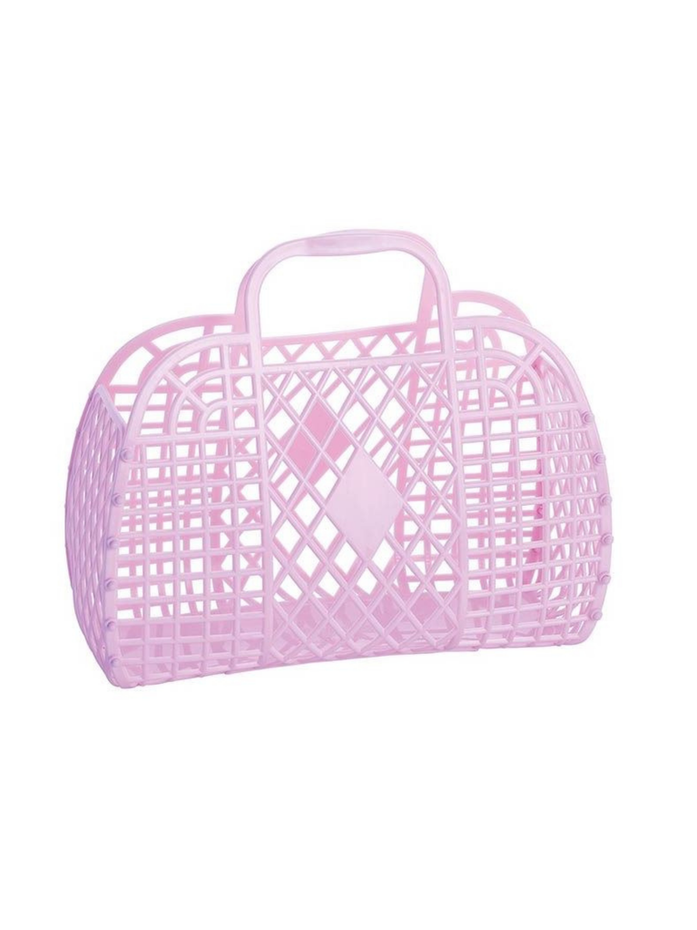 Sun Jellies Retro Basket | Lilac