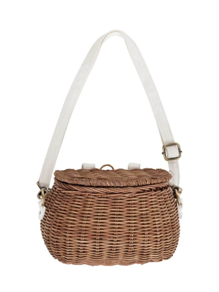 Olli Ella Mini Chari Bag | Natural