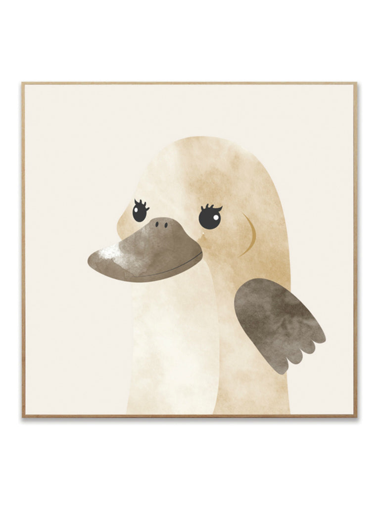 Australiana Platypus Canvas