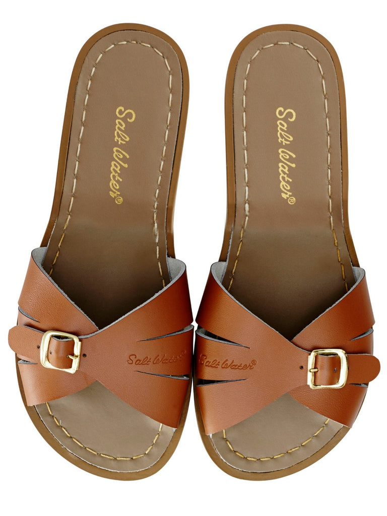 Salt Water Sandals Womens | Classic Slide Tan