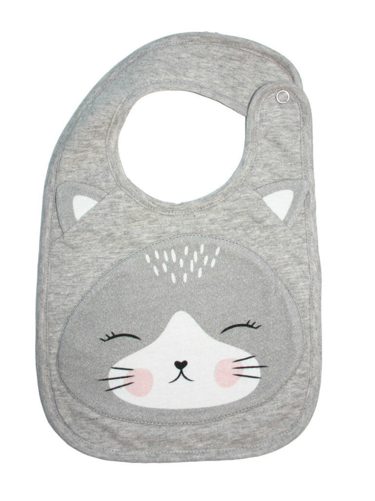 Cat Face Bib