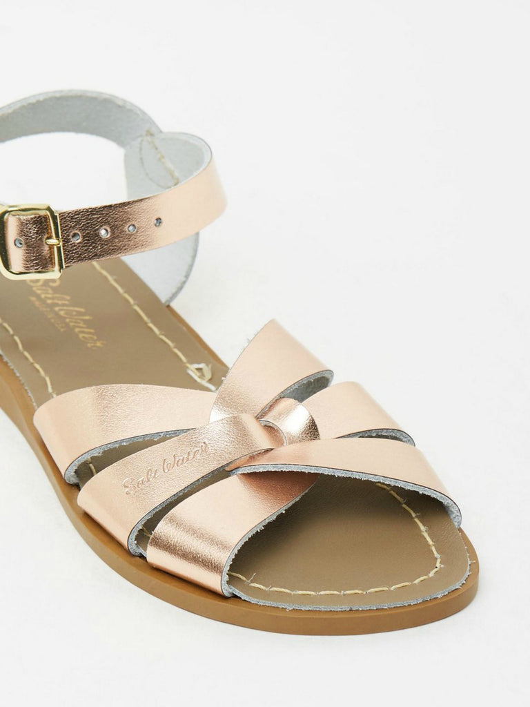 Salt Water Sandals Womens | Original Rose Gold