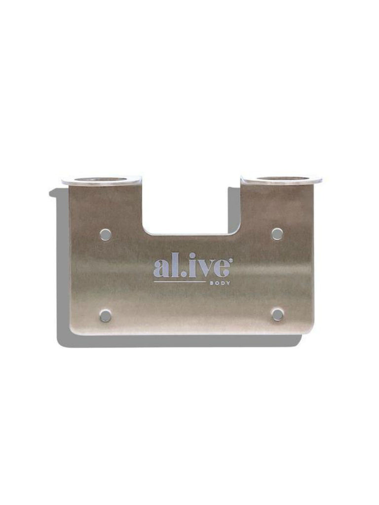 al.ive body Wall Holder | Brushed Nickel