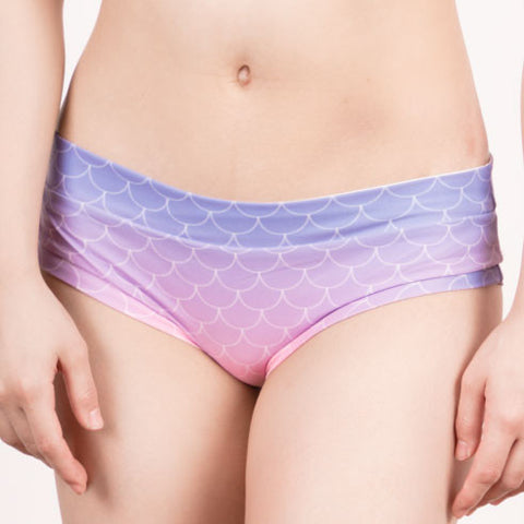 Mermaid Bottom - Purple Ombré