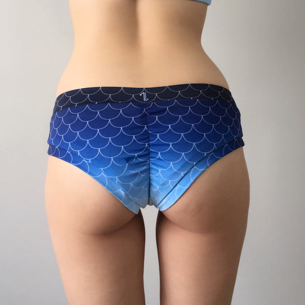 Mermaid Bottom - Midnight Blue