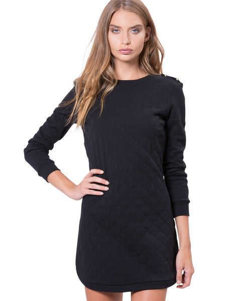 Houston Dress Black