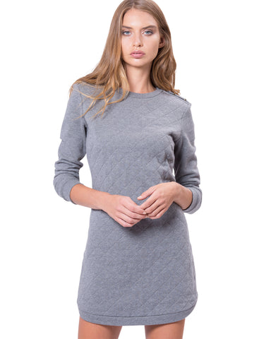 Houston Dress Grey Marl