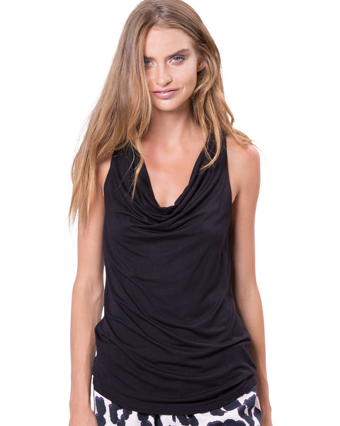 The Crosby Top Black