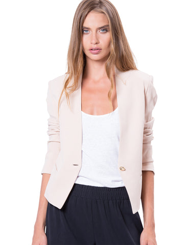 Empire Blazer Nude