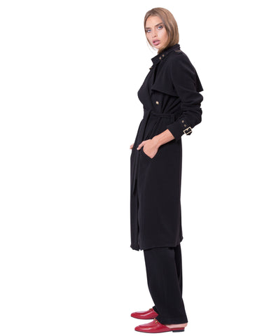 Mercer St Trench Black