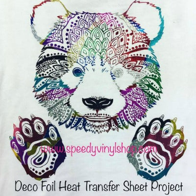 How to use Deco Foil Heat Transfer Sheets (& our EXTREME color challenge!)