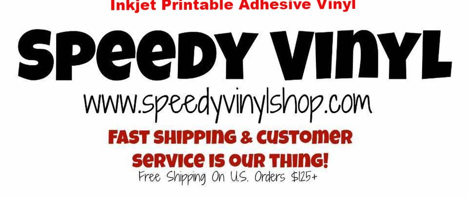 photo about Printable Adhesive Vinyl called Inkjet Printable Adhesive 8.5