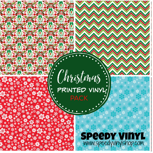 Christmas Printed Vinyl Pack
