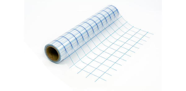 "Grid Clear Medium-Tack Transfer Tape 12""x30' Roll"