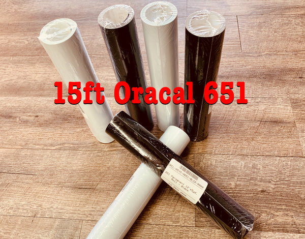 15 Ft. Roll Oracal 651