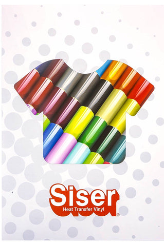 Siser HTV Full Catalog Color Swatch Booklet.