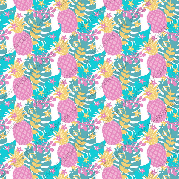 Pineapple Dreams Printed Vinyl