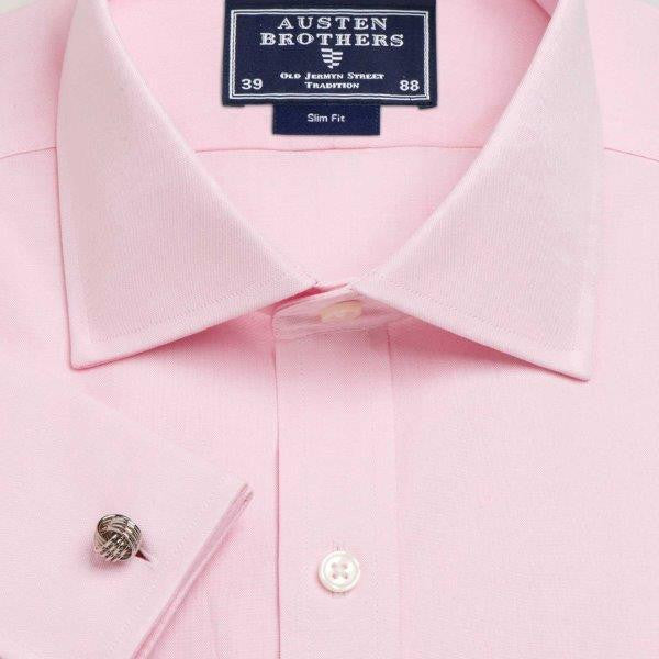 Pink Plain Pinpoint Oxford - Made 2 Measure