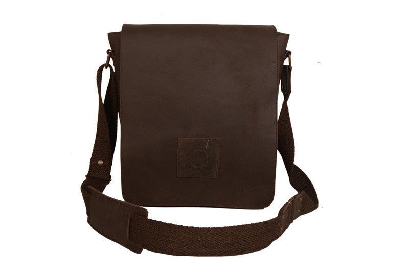 Soldier tall CH Leather Bag