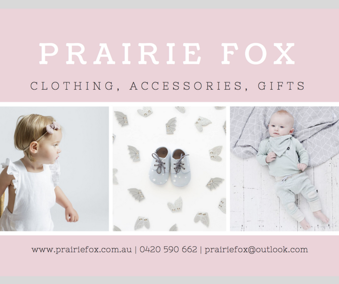Getting to Know the Brand - Prairie Fox!