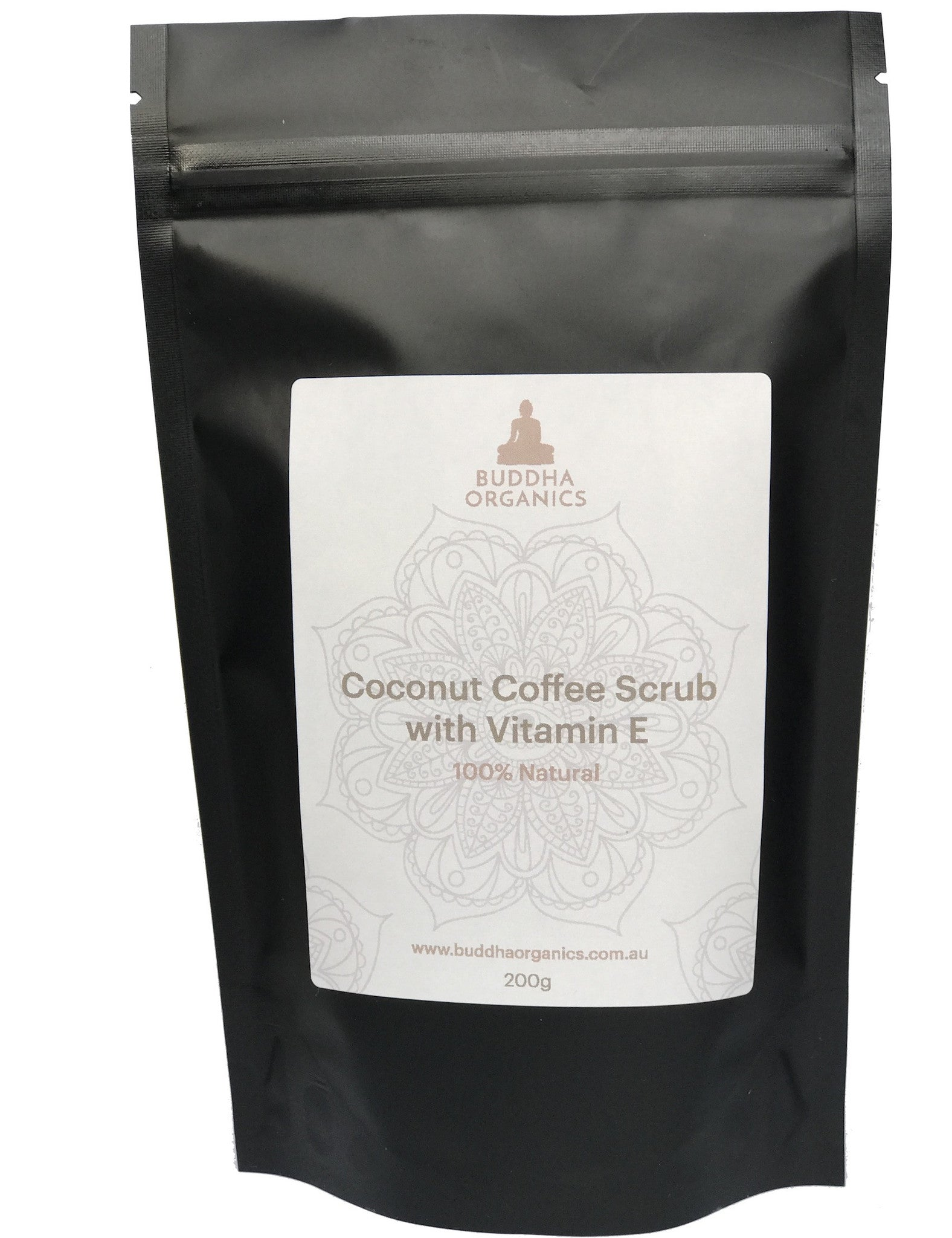 Coconut Coffee Scrub with Vitamin E - 100% Natural