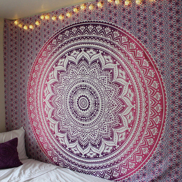 Pink Multifunctional Tapestry