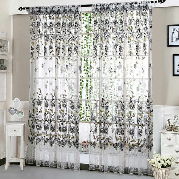 Peony Tulle Curtains Clarios