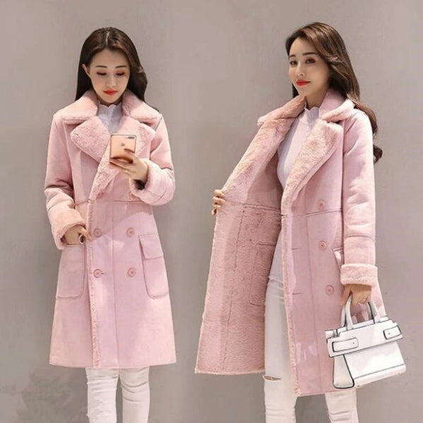 Winter Coat Women In The LongThick Cotton Jacket Coat  CODE: KAR394