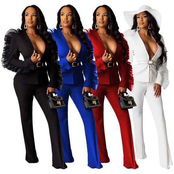 Winter Women Two Piece Set Top and Pants Plus Size Tracksuit Sweatsuit CODE: KAR436