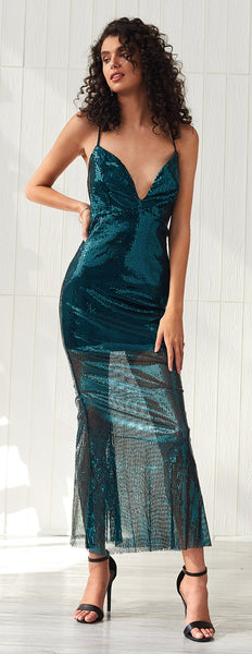 New Fashion Tight Sequin Sexy Gala Nightclub Dress Women CODE: KAR498