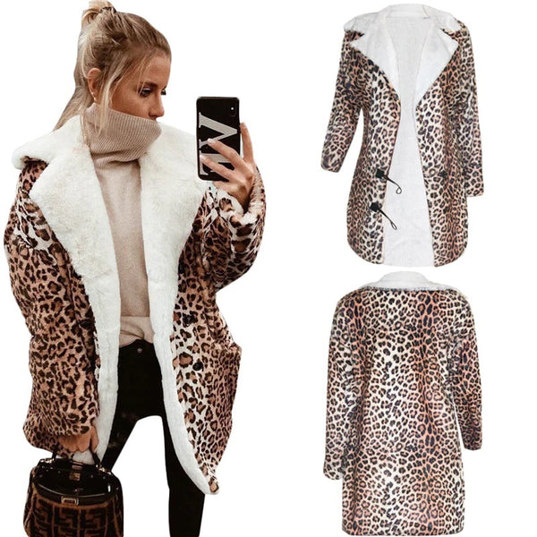 Winter Hot Popular Untidy Leopard Age Reduction Sexy Warm Regular CODE: KAR555