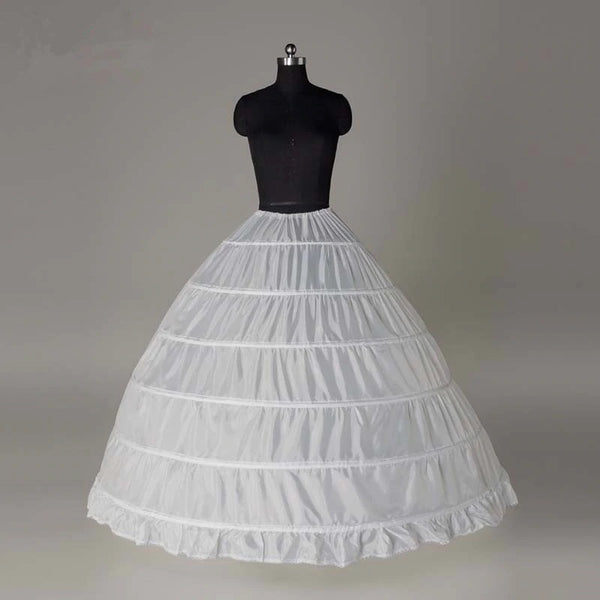 Six Steel Tutu Skirt Wedding Dress Crinoline Costume Pannier CODE: KAR593