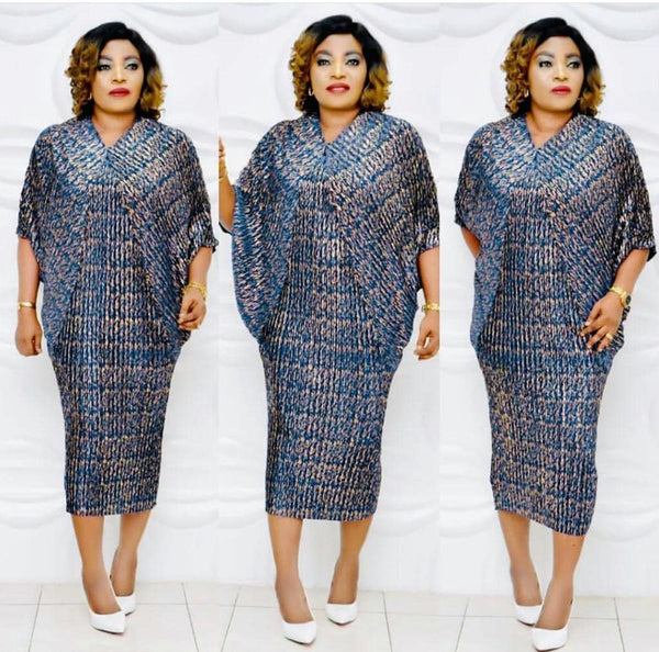 Elegent Fashion Style African Women Midi Dress CODE: KAR626
