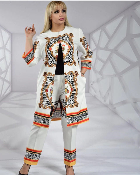 Women coat and leggings 2pcs/set CODE: KAR69