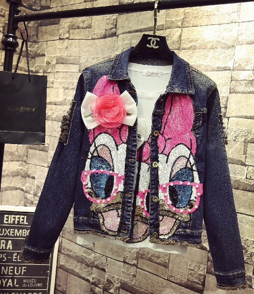 Short Denim Jacket Coats Spring Winter Women CODE: KAR720