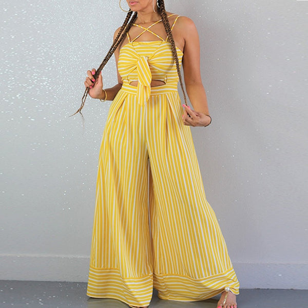 Wide Leg Jumpsuits sleeveless Casual Plus Size Streetwear CODE: KAR75