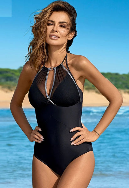 One Piece Swimsuit Plus Size Swimwear CODE: KAR824