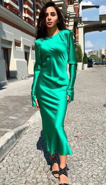 Ruffles Party Gown Sexy Streetwear Elegant Vintage Hole Long Sleeve Dress CODE: KAR833