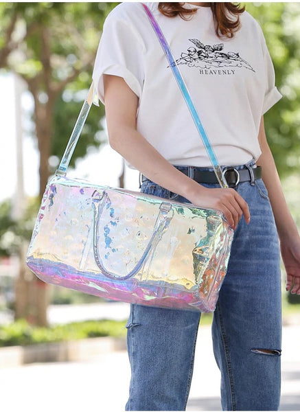 Handbag Laser Hologram Leather New Shoulder Bag CODE: KAR838