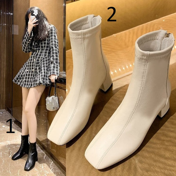 Rubber Boots Boots-women Winter Footwear Booties Ladies CODE: KAR879