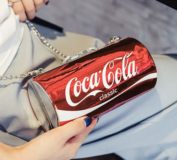 Personalized cans Coke chain shoulder bag CODE: mon2133
