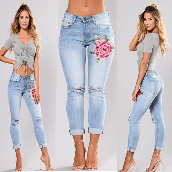 hot denim Slim pant CODE: mon622