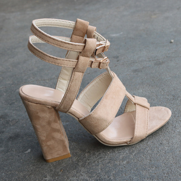 Casual high-heeled sandals CODE: mon652