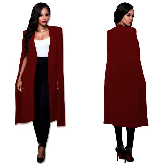 long paragraph big cloak casual wear jacket CODE: mon700