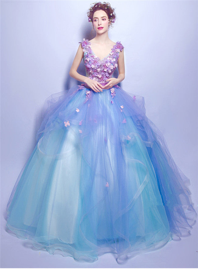 Charming Fairy Beading Gauze Fluffy Princess Dress CODE: mon581